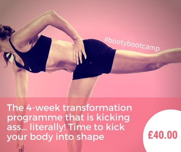 Booty Bootcamp with KT Chaloner