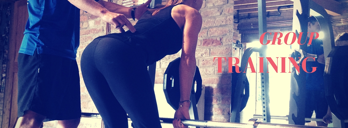 Group personal training with KT Chaloner